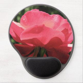 Tapis De Souris Gel La rosée embrassée s'est levée