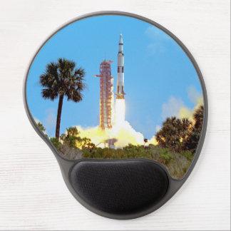 Tapis De Souris Gel Lancement de la NASA Apollo 16 Fusée Saturn v