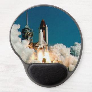 Tapis De Souris Gel Lancement de navette spatiale de la NASA, tapis de