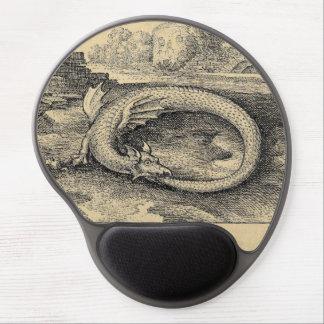 Tapis De Souris Gel Le dragon d'Ouroboros le mordant est de posséder