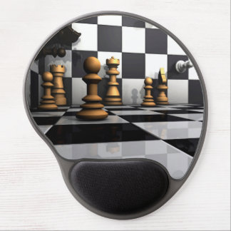 Tapis De Souris Gel Le Roi Chess Play