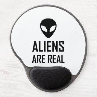 Tapis De Souris Gel Les aliens sont la vraie science-fiction