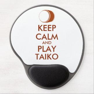 Tapis De Souris Gel Les cadeaux de Taiko gardent la coutume de tambour