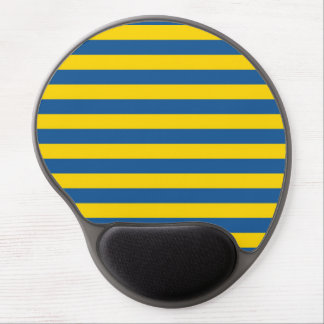 Tapis De Souris Gel Les lignes de rayures de drapeau de la Suède