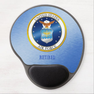 Tapis De Souris Gel L'U.S. Air Force retiré gélifient Mousepad