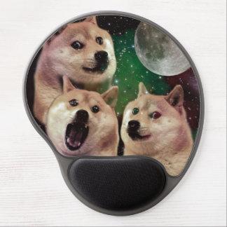 Tapis De Souris Gel Lune de doge - l'espace de doge - chien - doge -