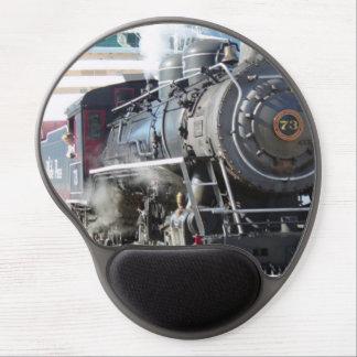 Tapis De Souris Gel Machine à vapeur de chemin de fer MousePad