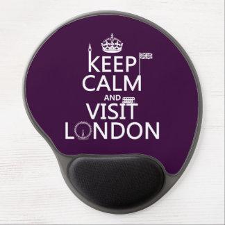 Tapis De Souris Gel Maintenez calme et visite Londres