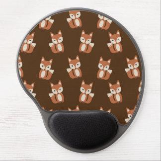 Tapis De Souris Gel Motif mignon de poster de animal de Fox de bébé