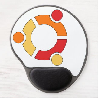 Tapis De Souris Gel Mousepad de gel de logo d'Ubuntu