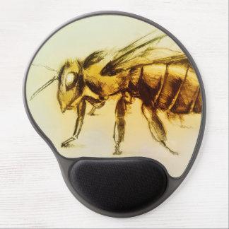 Tapis De Souris Gel Mousepad vintage original de gel d'art - abeille