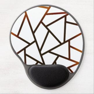 Tapis De Souris Gel Nouveau motif noir géométrique MousePad de