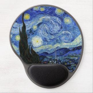 Tapis De Souris Gel Nuit étoilée par Vincent van Gogh