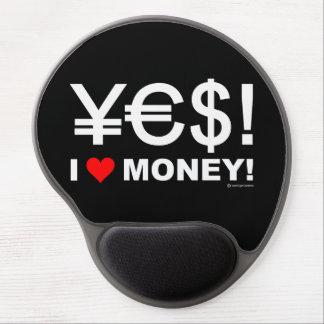 Tapis De Souris Gel Oui ! J'aime l'argent !