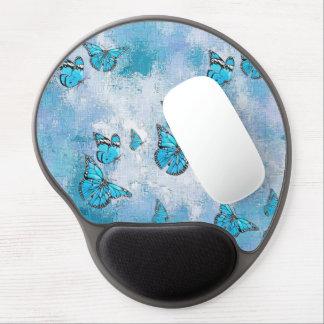 Tapis De Souris Gel Papillons adorables, aqua