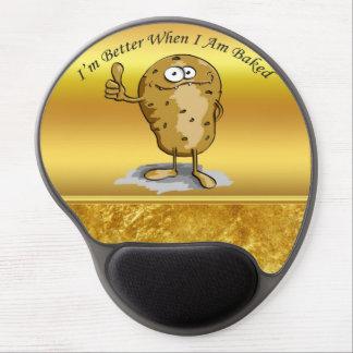 Tapis De Souris Gel pomme de terre de personnage de dessin animé avec