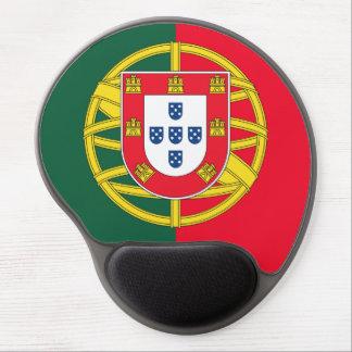 Tapis De Souris Gel Qualité portugaise de drapeau