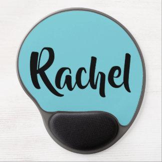 Tapis De Souris Gel Rachel du nom noir orphelin du caractère