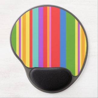 Tapis De Souris Gel Rayures verticales colorées