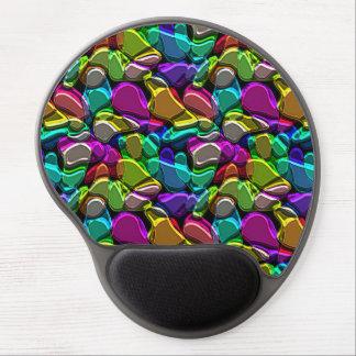 Tapis De Souris Gel Rétro motif de mosaïque coloré frais génial de