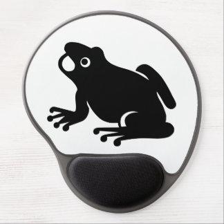 Tapis De Souris Gel Silhouette de grenouille