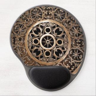 Tapis De Souris Gel Steampunk antique de bronze en métal de Vatican