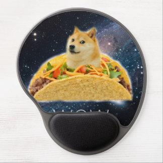 Tapis De Souris Gel Taco de doge - doge chien-mignon de