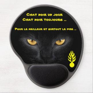 Tapis De Souris Gel Tapis souris pour chat noir
