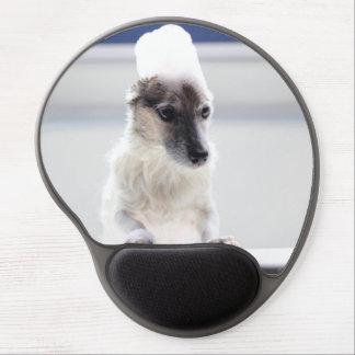 Tapis De Souris Gel Temps Mousepad de Bath de Jack Russell Terrier