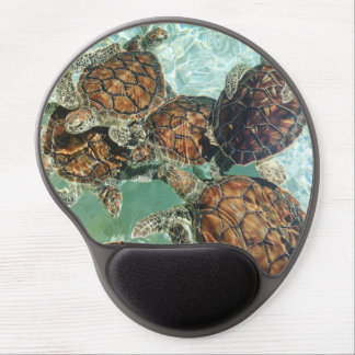 Tapis De Souris Gel Tortues tropicales (photographie de Kimberly
