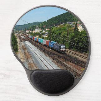 Tapis De Souris Gel Train de marchandises dans les Gemünden au Main