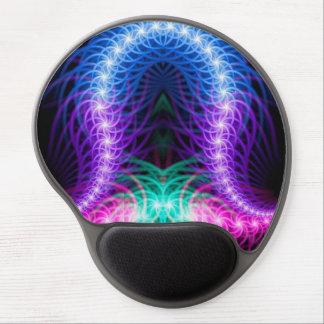Tapis De Souris Gel Une conception au néon colorée sans la rime ou la