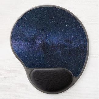 Tapis De Souris Gel Une galaxie des étoiles dans le ciel nocturne