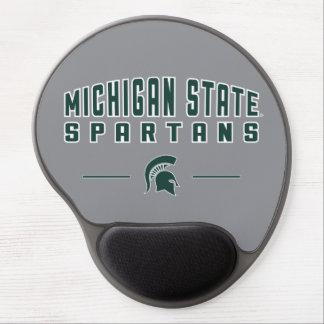 Tapis De Souris Gel Université de l'Etat d'État du Michigan du fanion