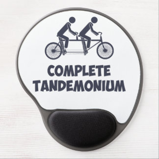 Tapis De Souris Gel Vélo tandem Tandemonium complet