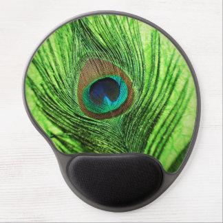 Tapis De Souris Gel Vert de chaux de paon