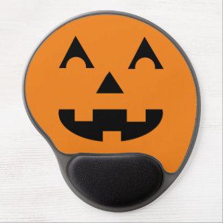 Tapis De Souris Gel Visage de citrouille de Halloween Jack-o'-lantern