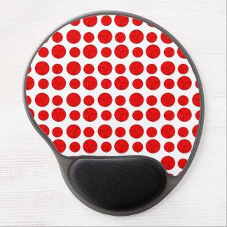 Tapis De Souris Gel Volleyballs rouges
