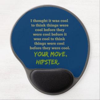 Tapis De Souris Gel Votre mouvement, hippie