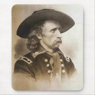 Tapis De Souris George Armstrong Custer circa des 1860s