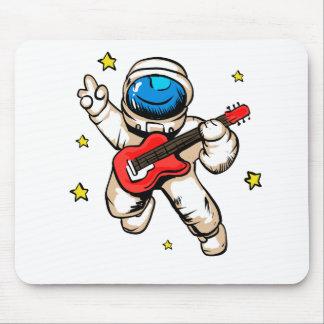 Tapis De Souris Geste de victoire d'astronaute