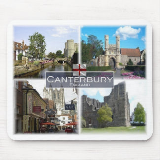 Tapis De Souris Gigaoctet Royaume-Uni - Angleterre - Cantorbéry -