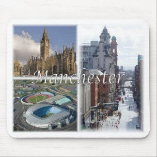 Tapis De Souris Gigaoctet Royaume-Uni - Angleterre - Manchester -