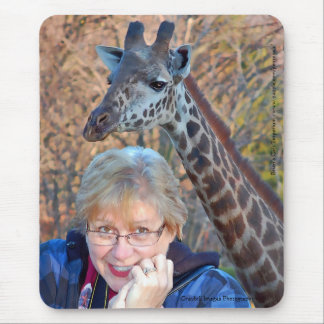 Tapis De Souris Girafe et Jean