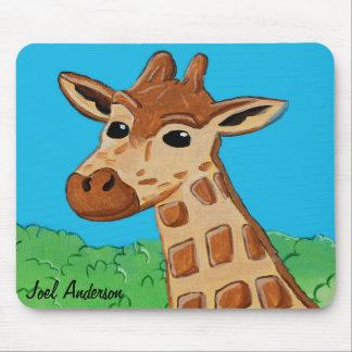Tapis De Souris Girafe Mousepad