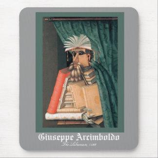 Tapis De Souris Giuseppe Arcimboldo - le bibliothécaire