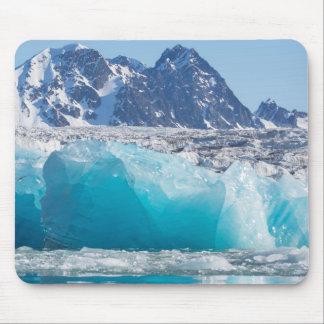 Tapis De Souris Glace bleue de glaceir, Norvège