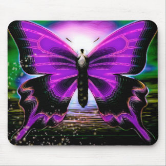 Tapis De Souris Graffitis de papillon