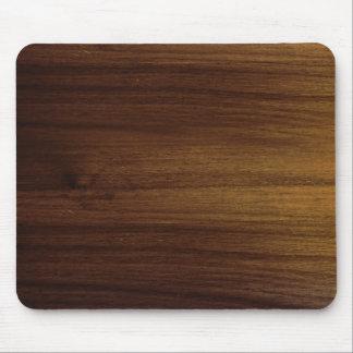 Tapis De Souris Grain en bois MousePad d'acacia