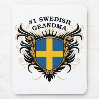 Tapis De Souris Grand-maman suédoise du numéro un